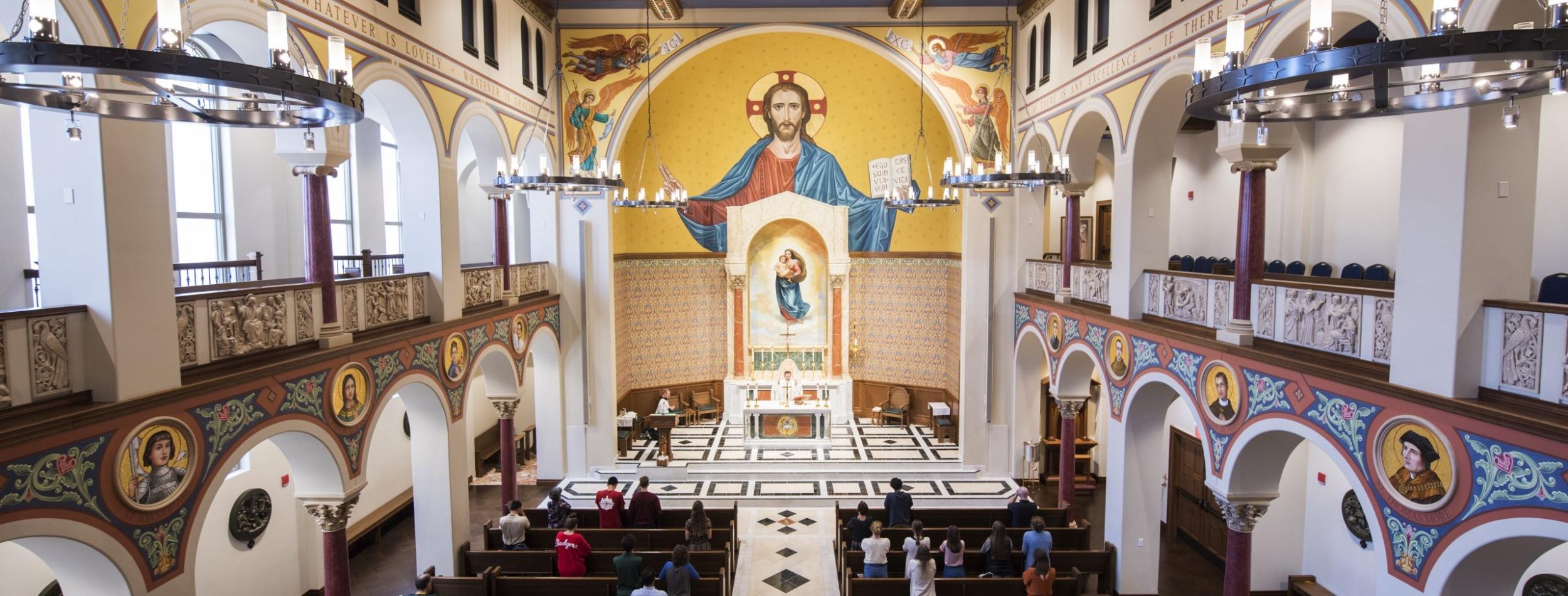 St Pauls Mass